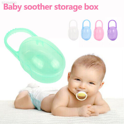 5FEA 5 Colors Baby'S Nipple Box Cases Gifts Container Holder