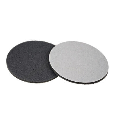 """Scrub Pad, 7"""" 1000 Grits Drill Brush Tile Scrubber Cleaning Scouring Pads 2pcs"""