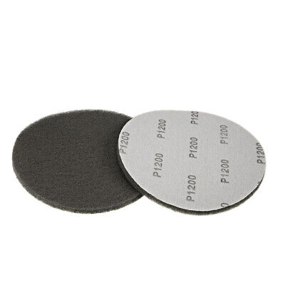 "Scrub Pad, 7"" 1200 Grits Drill Brush Tile Scrubber Cleaning Scouring Pads 2pcs"
