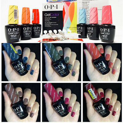 15ML Gel Nails UV&LED Gel OPI Soak Off Art Varnish Gel Lacquer Salon Nail Polish