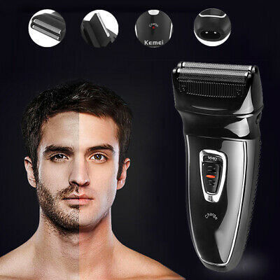 Pro Men's Rechargeable Electric Cordless Beard Shaver Facial Razor Trimmer Groom