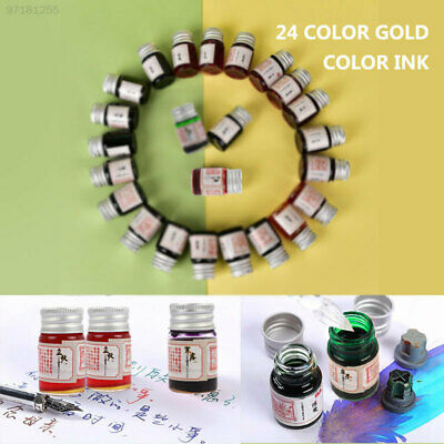 0BEA 5ml Colored Ink Fountain Pens Signature Pen Painting Writing