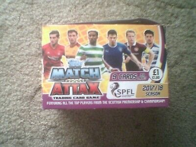 Match Attax SPFL 17/18 - Foils - Man of the Match - 100 Club - Ltd Editions