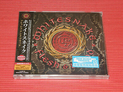 2019 WHITE SNAKE FLESH & BLOOD with BONUS TRACKS JAPAN CD + DVD EDITION
