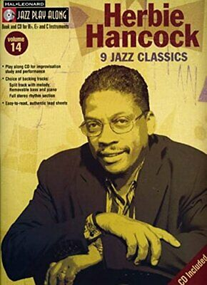 Jazz Play Along: Volume 14 - Herbie Hancock: 20 Book The Fast Free Shipping