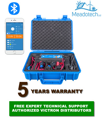 VICTRON BLUE Smart 12V IP65 BATTERY CHARGER 7-15A CEE/7 in Case FREE EU Delivery
