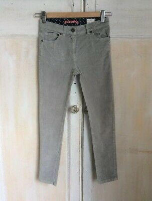 Johnnie B By Boden Grey Velour Skinny Jeans Aged 9