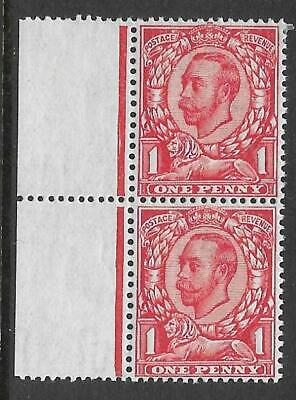 Sg 350a 1d Scarlet Downey Head die 2 Variety No X on Crown UNMOUNTED MINT/MNH