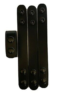 """8865-3 Uncle Mike/'s Molded Belt Keepers for 2/"""" Belt set of 4"""