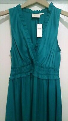 139cfe1b53ee NWT Anthropologie Turquoise La Habana Dress by Maeve, Size Small, $138