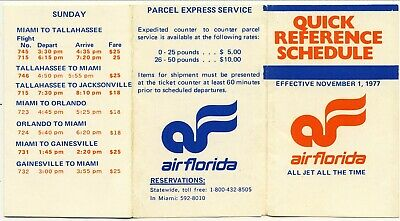 AIR FRANCE CONCORDE AIRLINE TIMETABLE 1977 & 707 CUTAWAY BROCHURE