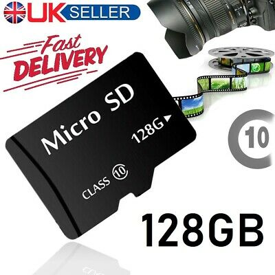 New 128GB Micro SD Card Flash Memory TF SDHC SDXC 128G UK - CLASS 10 - UK SELLER