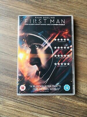 DVD   FIRST MAN  RYAN GOSLING. Watched once. Free Post
