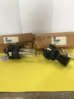 "Parker 3/4"" Regulator And Lubricator"