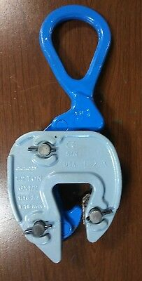 🇺🇸Plate lifting clamp CAMPBELL/MERRILL GX 1/2 ton, grip 1/16-5/8 inch.🌐🚛