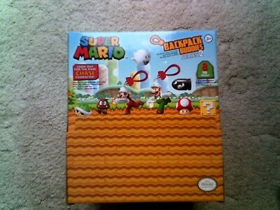 Super Mario Series 2 Backpack Buddies Figures - Complete your Collection