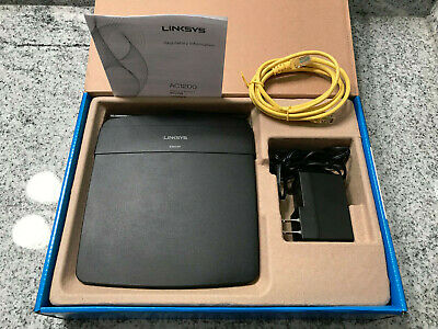 CISCO LINKSYS E1200 300 Mbps 4-Port 10/100 Wireless Router