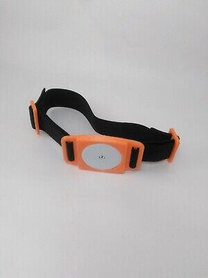 Freestyle Libre Sensor Flexible Armband Holder Protects Your Sensor Orange BLK S