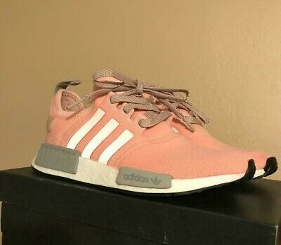 8b6e3f422 ADIDAS NMD R1 Vapour Pink Onix Grey Offspring BY3059 Size 8 Women s ...