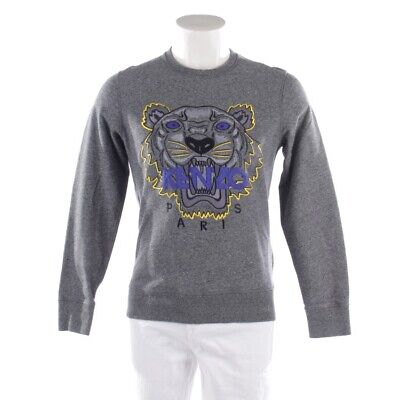authentic quality cheap price release date KENZO SWEAT GR. S Gris Homme Haut Sweat Pull Tigre Coton