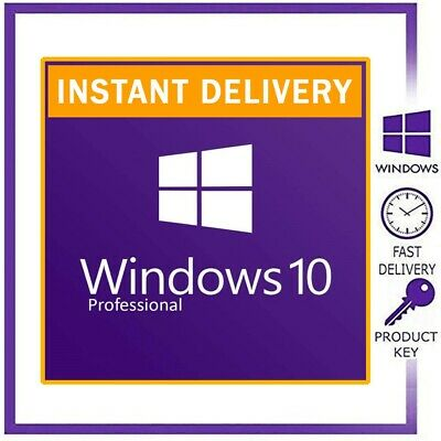Windows 10 Pro Retail Key Activation Key Product Key License Code 32 / 64 Bit