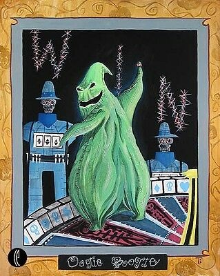 Oogie Boogie - Tricia Buchanan-Benson - Limited Edition Giclee On Canvas