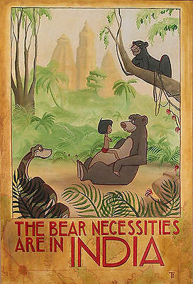 The Bear-Necessities of Life - Tricia Buchanan-Benson - Limited Edition Giclee