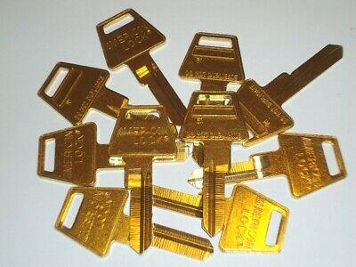 American Lock R1 Restricted Keyway Key Blank 6 Pin Lot of 10
