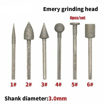 Stone Processing Carving For Rotary Tools Emery Grinding Head Polishing Heads