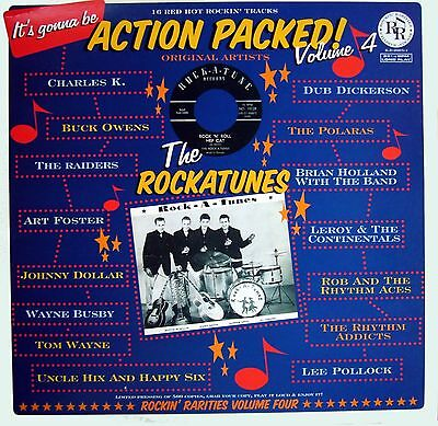 VA.ACTION PACKED VOL 4 - FANTASTIC RARE ROCKIN' 50/60s  LP - DEAN & JEAN,S. KING