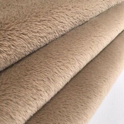 SILKY COCOA - Faux Fur Fabric - Handy Craft Square