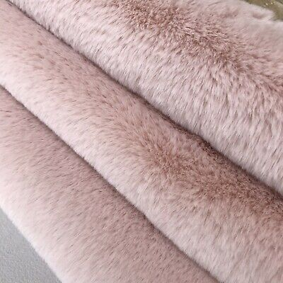 SILKY LOTUS - Faux Fur Fabric - Handy Craft Square