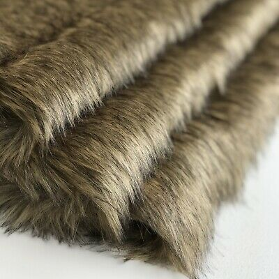 BRINDLE - Faux Fur Fabric - Handy Craft Square