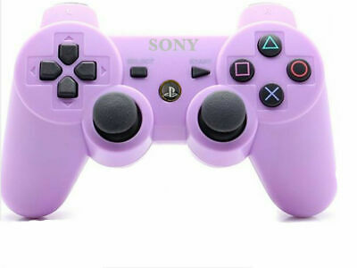 Purple Wireless Gamepad Bluetooth PS3 Controller Joystick for Sony PlayStation 3
