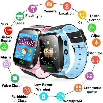 Smart Watch Phone Locator Tracker SOS Call Flashlight Camera For Kids Gift