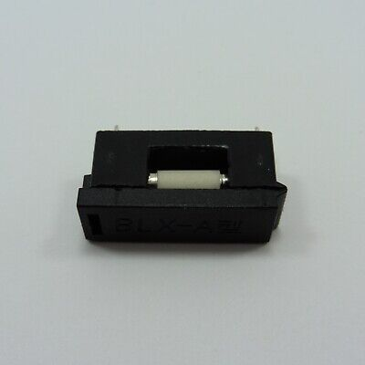 Fast Acting Ceramic Fuse 5x20mm + PCB Mount BLX-A Fuse Holder Quick Blow