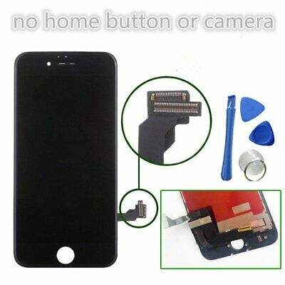 """Black Assembly LCD Touch For iPhone 7 4.7"""" Screen Digitizer Display Replacement"""