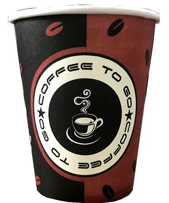 3000x Coffee Cups 0,3l Hard Paper Paper Cup Coffee to Go Cup 300ml Tea Cup