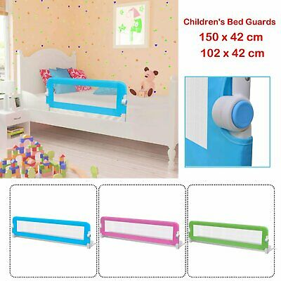 Toddler Baby Safety Bed Rail Foldable Children's Bed Guards 150 x 42 /102 x 42cm