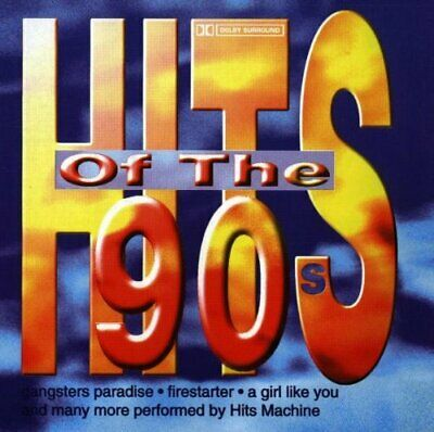 Various Artists - Hits of the 90's - Various Artists CD 1LVG The Cheap Fast Free