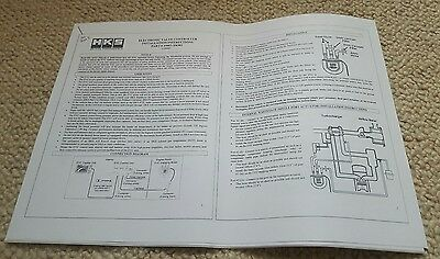 Hks Evc 5 V Electronic Boost Controller Manual Instrutions