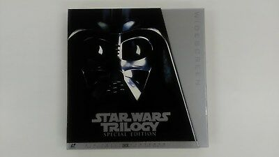 STAR WARS TRILOGY SPECIAL EDITION  6LD JAPAN THX Laser Disc LD   USED