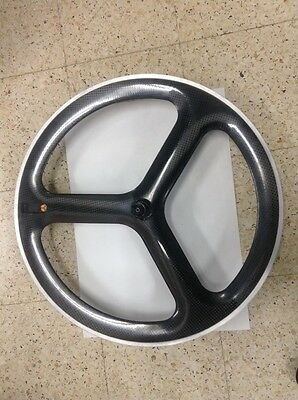 Rueda/wheel Carbon 3 Spoke 9v/Speed Shimano Hed