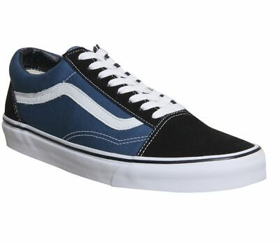 VANS OLD Skool Trainers Navy White $66.02 | PicClick