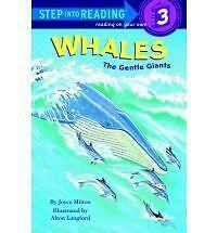 Whales: The Gentle Giants (Step into Reading), Milton, Joyce, Very Good Book