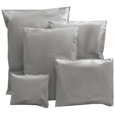 Strong Grey Mailing Post Mail Postage Bags  Self Seal All Sizes High Quality