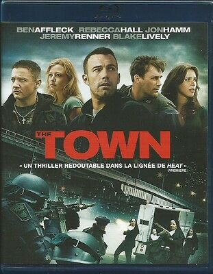 Blu Ray  ***  THE TOWN  ***  ( Ben Affleck / Jeremy Renner )  NEUF cellophané