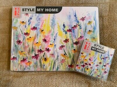 Daisy Field Set Of 4 Coasters & Placemats