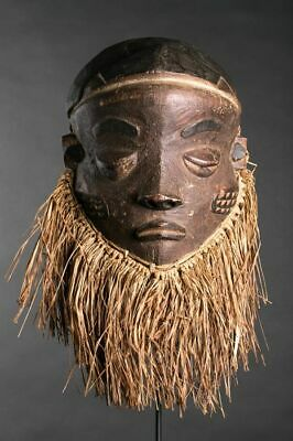 Masque Mbuya - Pende - Congo RDC ART AFRICAIN TRADITIONNEL PRIMITIF TRIBAL
