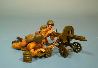 Lineol / Elastolin - Rote Armee - Maxim MG Gruppe – 7cm Serie / 1:24